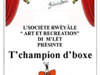 T'champion d'boxe